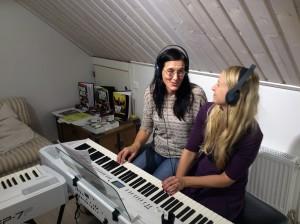 Opi säestämään pianolla!