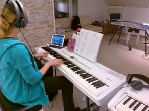 ipad musiikinopetuksessa